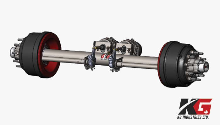 KGI Standard Trailer Axles